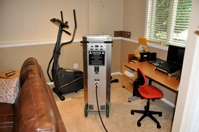 Heater in Living Room