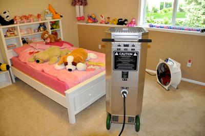 Heater in Bedroom